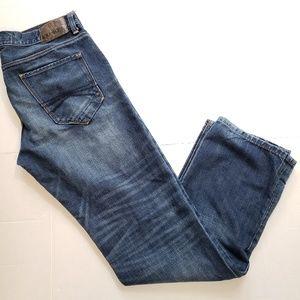 EXPRESS Kingston Classic Fit Straight Leg jeans